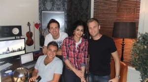 Annie Khalid with Norwegian Band A1
