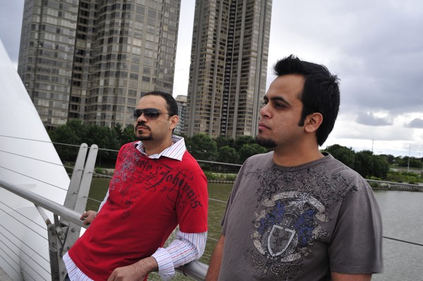 Asad Qizilbash and Hassan Bokhari of Swaras Band