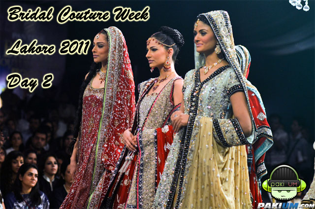 Bridal Couture Week Lahore Day 2 Pictures