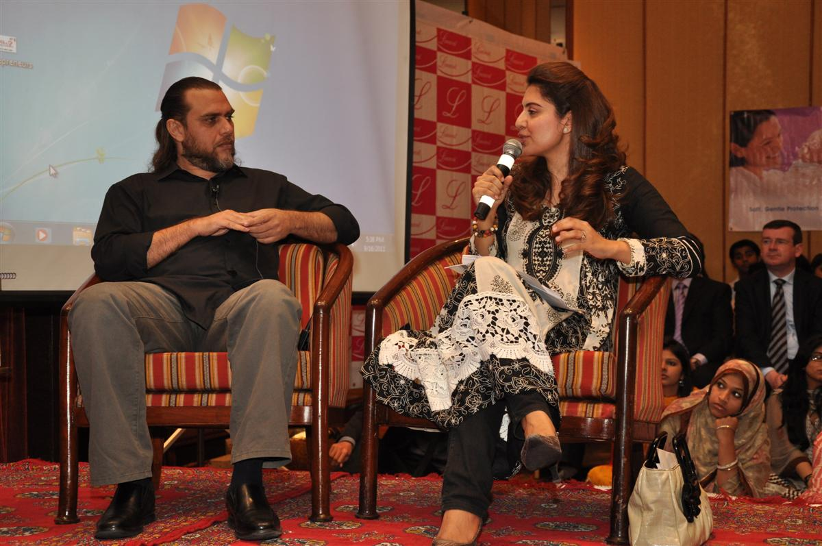 Rohail Hyatt as a Panelist at LadiesFund Enterpreneur Conference 2011
