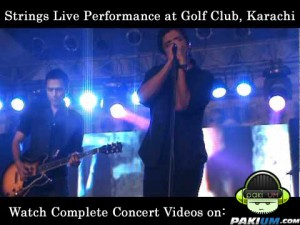 Strings performance at Golf Club Karachi Concert Videos