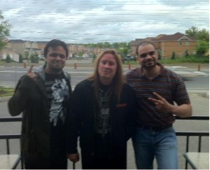 Swaras new song Khayal with Glen Drover of MegaDeth