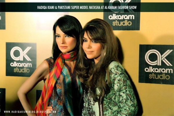 Hadiqa with Pakistani Super Model Natasha