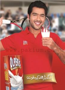 Aisam-ul-Haq Brand Ambassador of Olpers