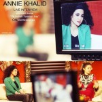 Annie Khalid interview on Express TV Pictures (9)