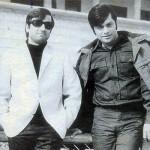 Pakistani Filmstar Waheed Murad and Nadeem