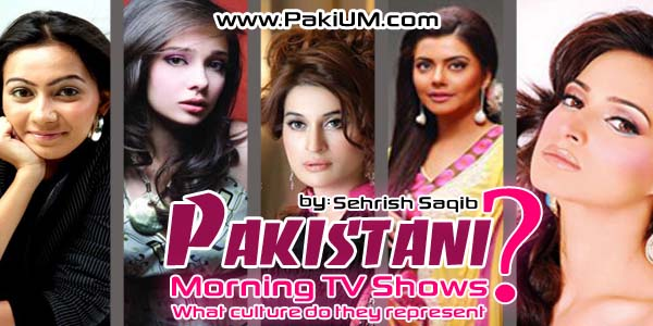 Pakistani Morning TV shows