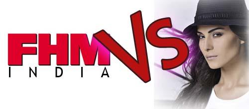 Veena against FHM India