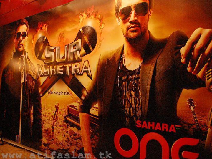Atif Aslam poster Sur Kshetra