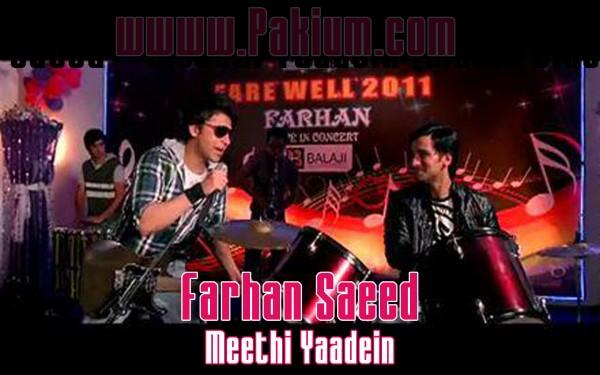 Farhan Saeed's song Meethi yaadein in Bollywood Movie Qasam se Qasam Se