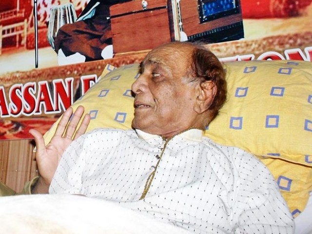 Mehdi Hassan in Hospital