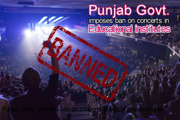 Punjab Govt imposes ban on music concerts