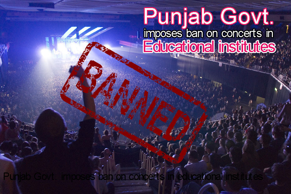 Punjab Govt imposes ban on music concerts