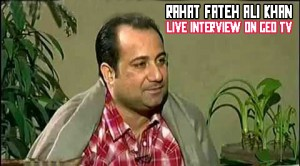 Rahat Fateh Ali khan interview with GEO Pakistan