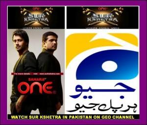 Sur Kshetra on GEO TV in Pakistan