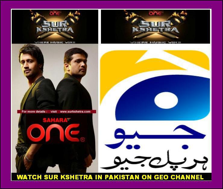 Sur Kshetra on GEO TV in Pakistan