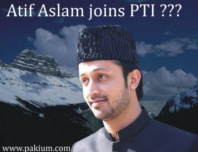 Atif Aslam joins Pakistan Tehreek Insaaf