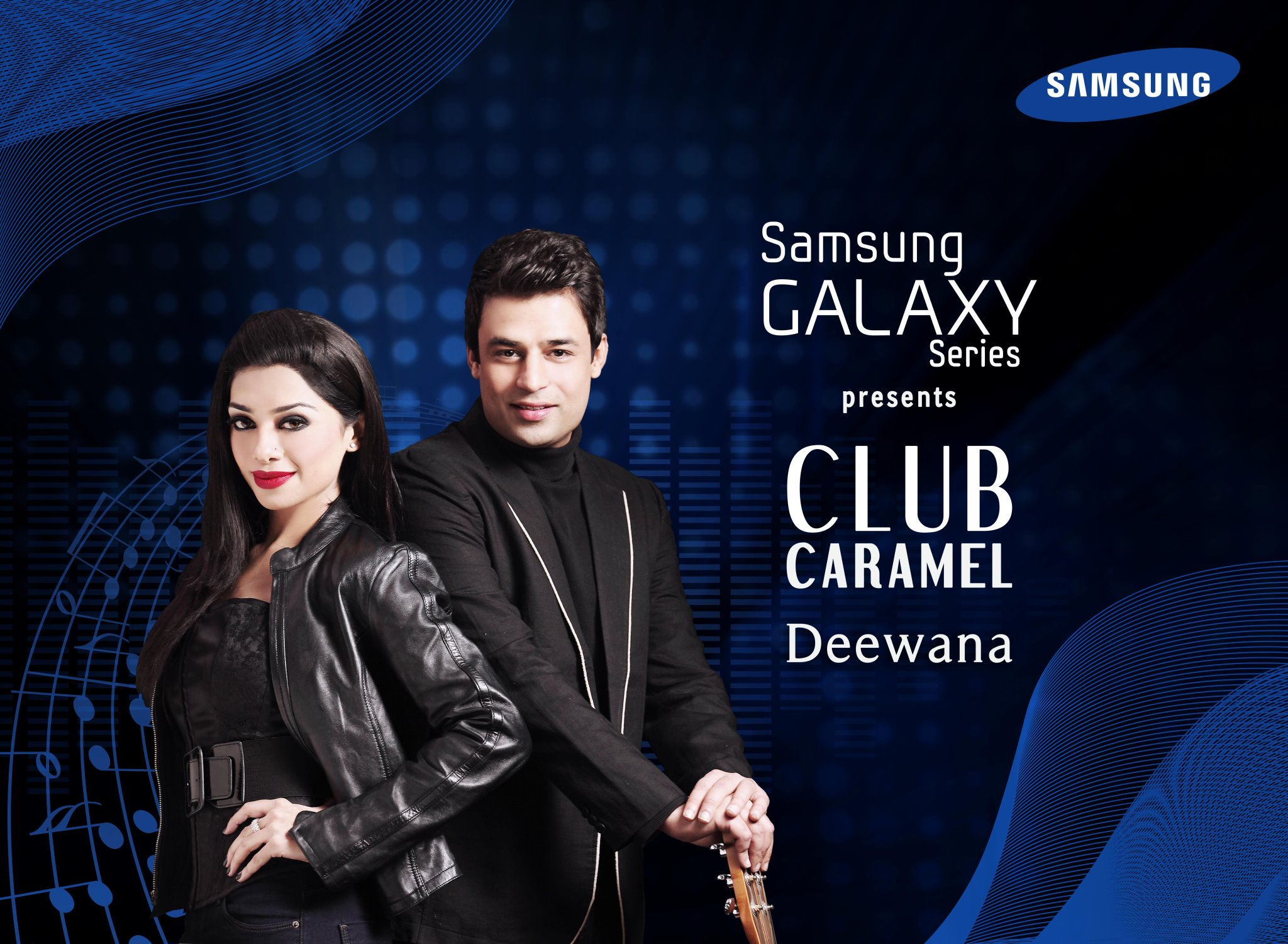 Club Caramel song Deewana Sponsored by Samsung