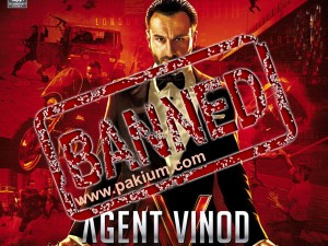 Agent Vinod Banned in Pakistan