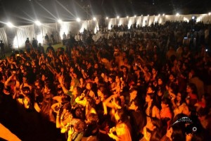 Concert in Police Ground Hyderabad