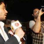 Mustufa Zahid Live at Blood Money Screening (1)