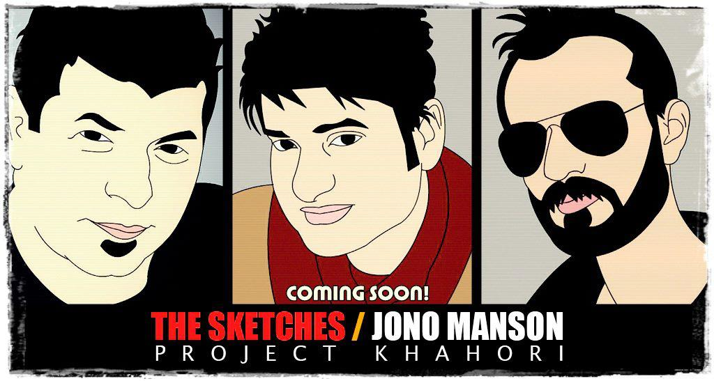 The Sketches and Jono Manson
