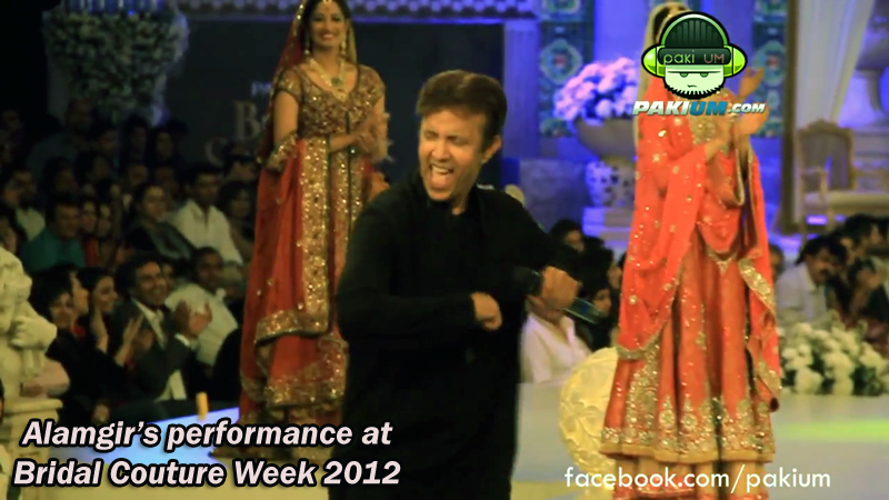 Alamgir Dance performance at Bridal Couture Week 2012