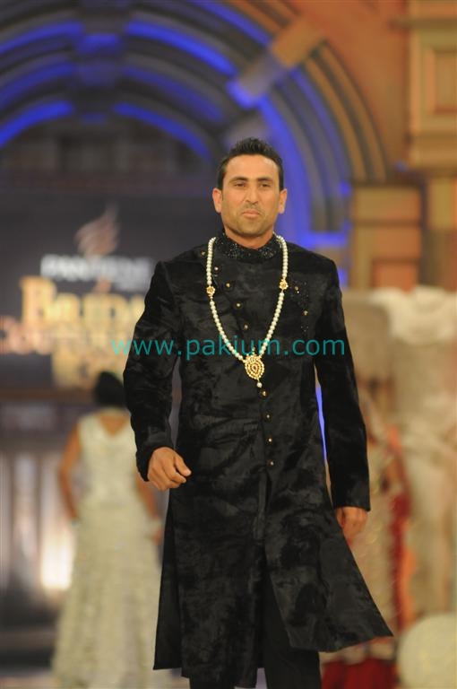 Younas Khan at Bridal Couture Week Day 3