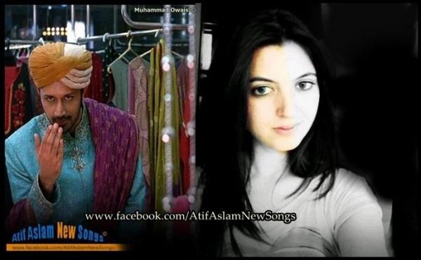 Atif Aslam with Sara Bharwana