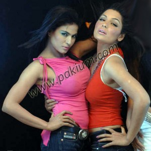 Veena Malik and Meera