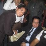 Ali Zafar with Dilip Kumar