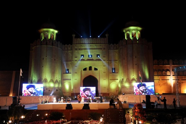 2nd Aman Ki Asha Shame Ashnai Event at Lahore Fort Shahi Qilla