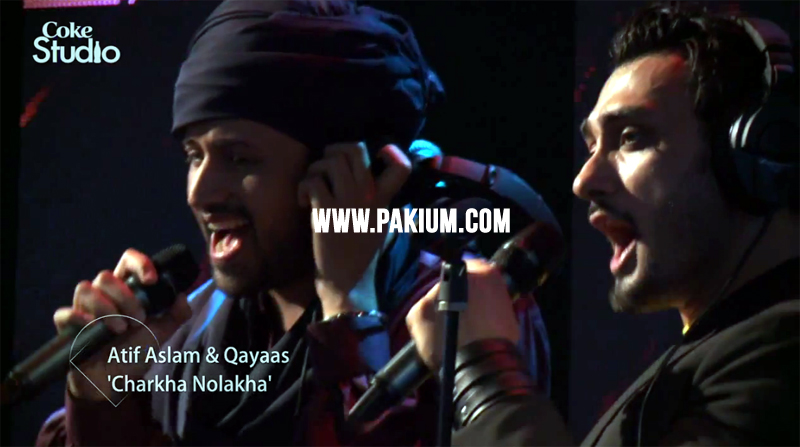 Atif Aslam and Qayaas Band in Coke Studio