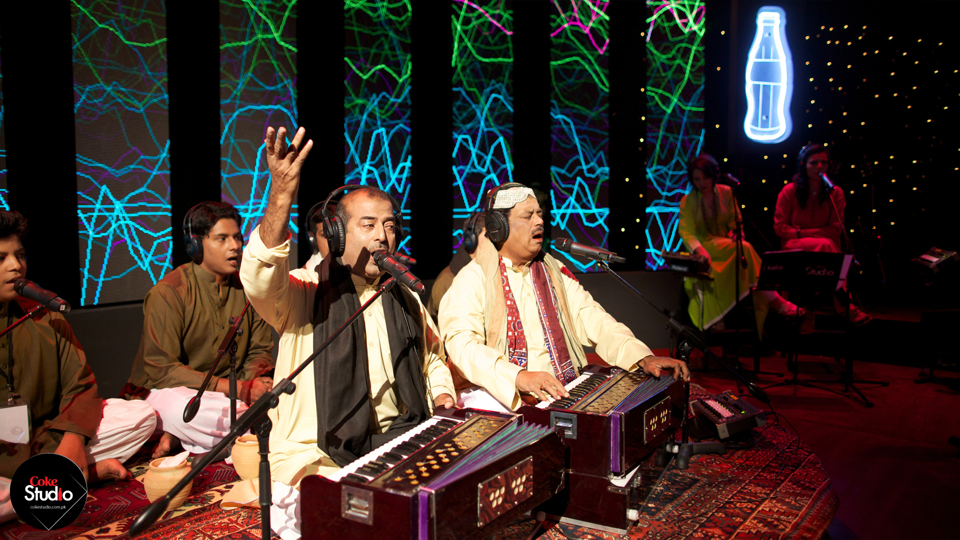 Fareed Ayaz and Abu Muhammad singing Rung Qawwali