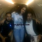 Annie Khalid with Malik