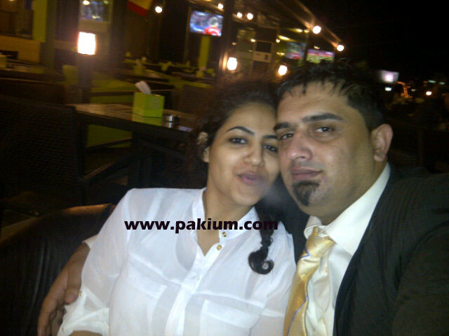 Annie with husband Malik Noureed Awan
