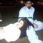 Annie Khalid with Malik Noureed Awan