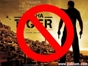 ek tha tiger banned in Pakistan