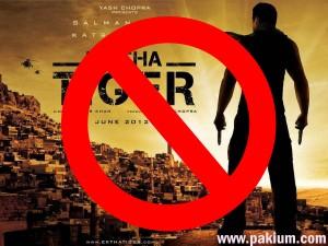 ek tha tiger banned in Pakistan