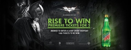 The Dark Knight Rises Releases In Pakistan By Mountain Dew