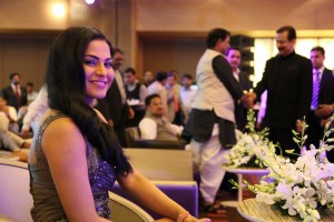 Veena Malik at Sahara Channel Launch