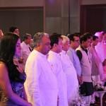 Veena malik, Sport minister Ajay Makan, and Laloo Prasad Yadav at Sahara Channel Launch