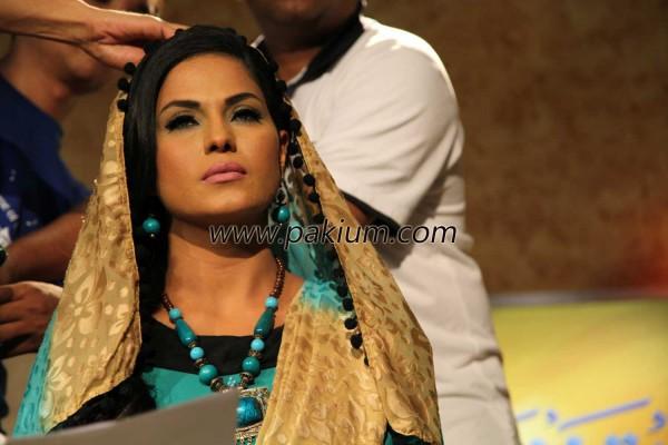 Veena Malik in Hero TV show