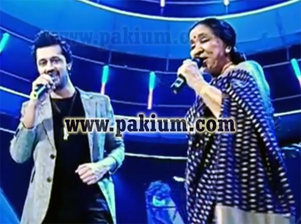 Atif Aslam Asha Bhosle Singing Chura Liya Hai Tumne at Sur Kshetra