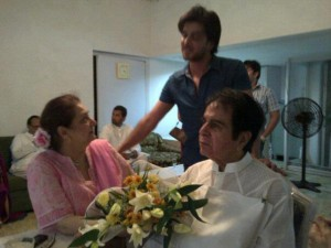 Imran Abbas Celebrates Eid With Dilip Kumar