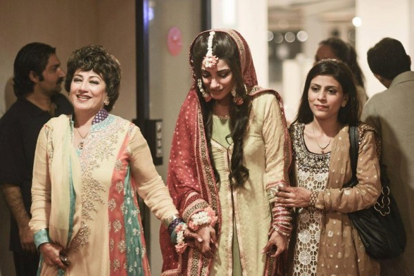 Naveen Waqar on her Mehndi