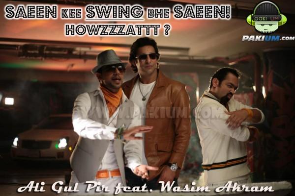 Waseem Akram Ali Gul Pir in Ufone TVC Saeen