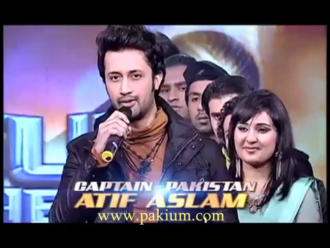 Atif Aslam as Captain Pakistan on Sur Kshetra Episode 2