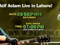 Atif Aslam jazba generation tour live in Lahore