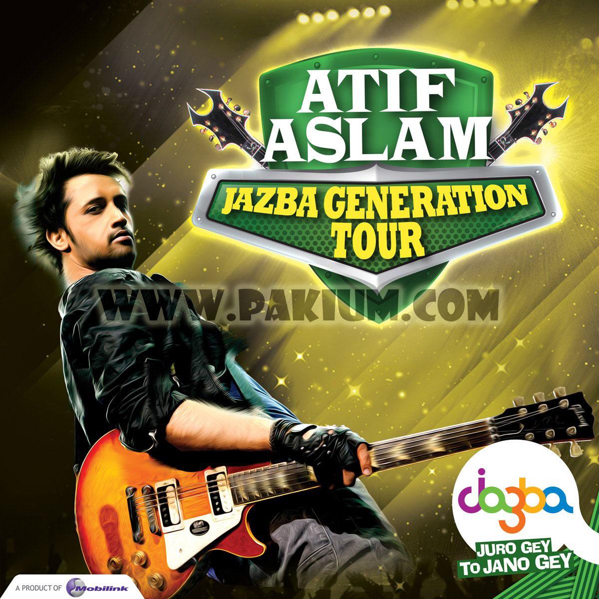 Atif Aslam Jazba Rockumentary